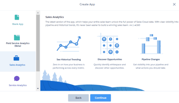 Einstein Analytics - App Creation