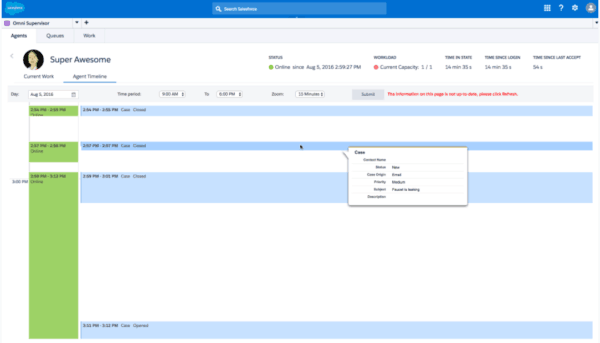 Salesforce Service Cloud - manager omni channel