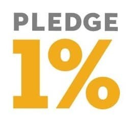 Salesforce's pledge 1% modell
